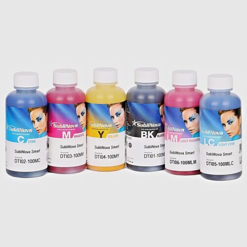 Inktec Sublimation Ink-SubliNova Smart 6 color Set - 100ml each