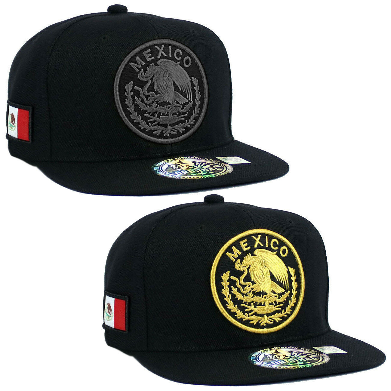 MEXICAN hat cap Snapback MEXICO Federal Logo Embroidered Bas