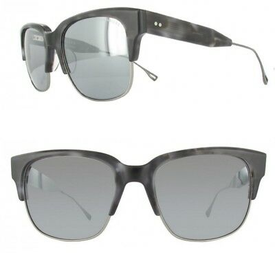 0354d28fe77 DITA TRAVELLER Sunglasses 19014C Silver Mirror Lens  GREY TORTOISE New  Authentic