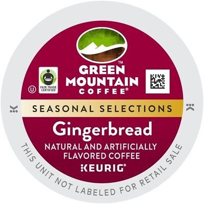 Green Mountain Limited Edition Gingerbread Coffee K Cups 48 Figure out Free Shipping!