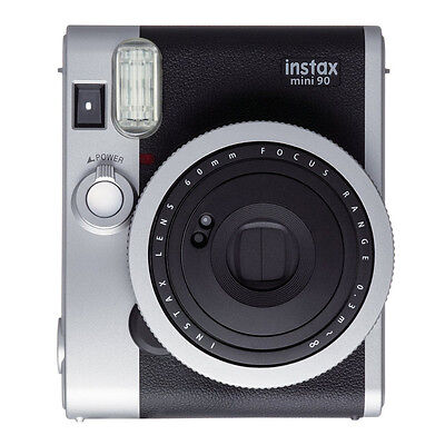 Black FujiFilm Instax Mini 90 NEO CLASSIC Instant Photos Fil