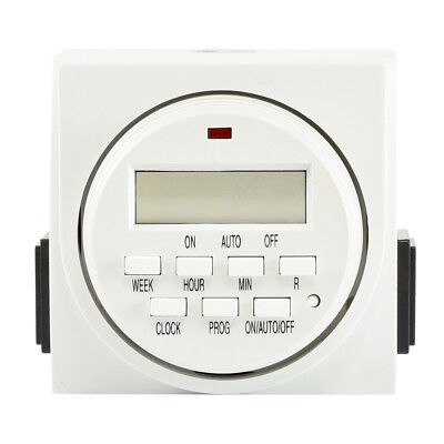 7 Day Programmable Timer | Digital Electronic Switch Dual 2