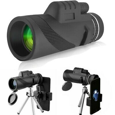 40x60 Clip-on Optical Zoom HD Telescope Camera Lens For Cell Phone iPhone