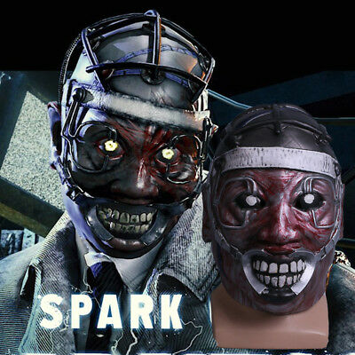 The Scary Halloween Games (Game Dead by Daylight Mask Cosplay Spark Of Madness Mask The Doctor Scary)