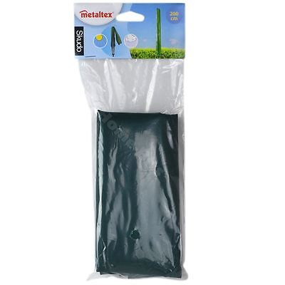 Metaltex Skudo Rotary Dryer Parasol Washing Line Cover 200cm Zip & Tie