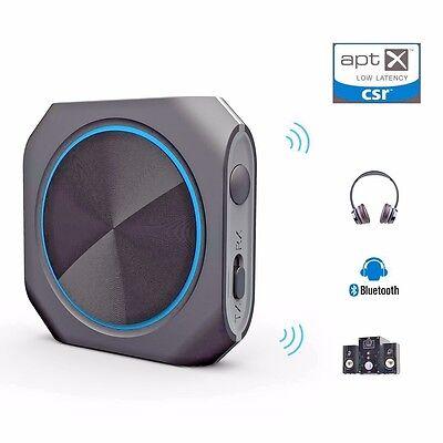 Bluetooth 4.1 Transmitter Receiver Zoweetek 2 in 1 Wireless w/ 3.5mm Adapter