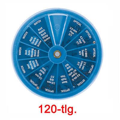120 Feinmechaniker Schrauben Edelstahlschrauben Brillen Optiker 3,0 3,5 4,2 4,5