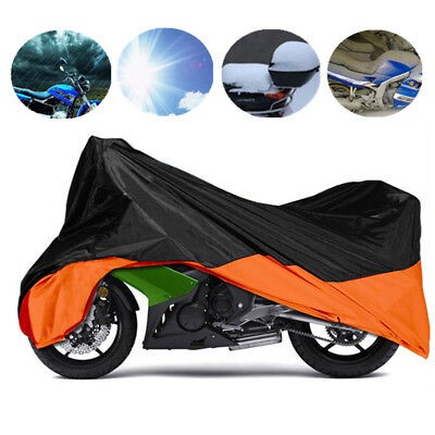 XXL Motorcycle Waterproof Rain Cover For Harley Electra Glide Ultra Classical
