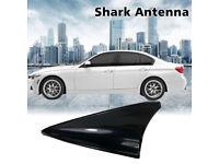 Painted Pure Black SAAB 9-3 9 5 Roof Dummy Antenna Shark Fin Decoration Universa