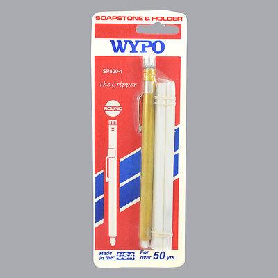 Wypo Round Soapstone Holder With 5 Soapstone Markers 5 X 14 Sp800-1