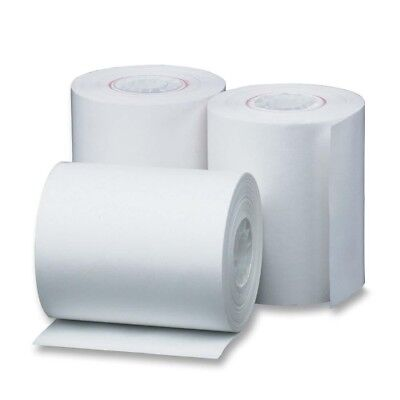 50 Rolls Of Receipt Paper For First Data Fd50 And Fd100ti Credit Card Terminals
