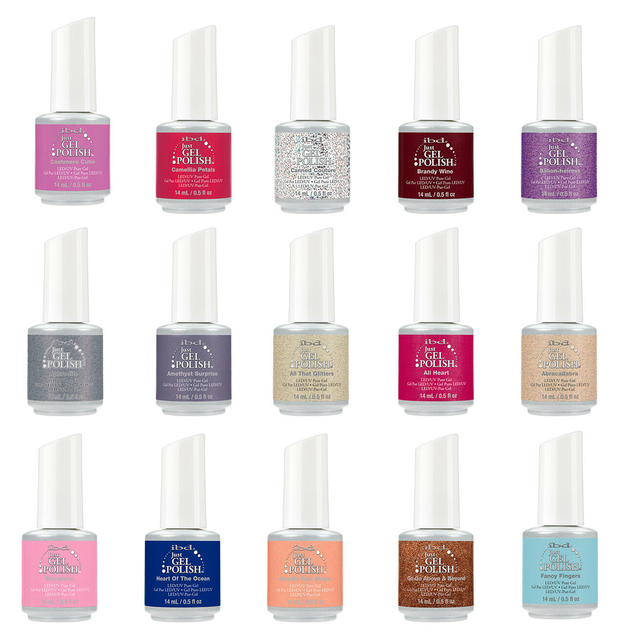 IBD Just Gel UV/LED Gel Polish 0.5oz. Buy 1 Get 1 at 50% Off