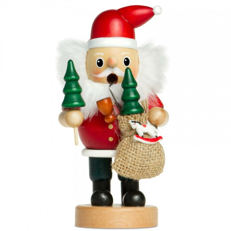 SIKORA Series B Wooden Incense Smoker Smoking Figure Christmas Xmas Decoration