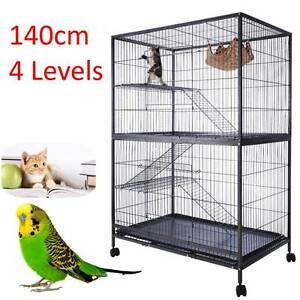 140cm Ferret Bird Cage 4 Level Cat Hamster Rat Budgie Pet Aviary Dandenong South Greater Dandenong Preview