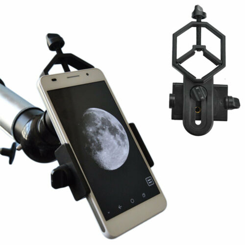 Universal Cell Phone Adapter Mount for Telescopes Binocular Monocular Microscope