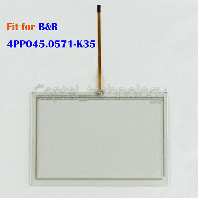 Touch Screen Glass for B&R 4PP045.0571-K35 4PP045-0571-K35 One Year Warranty New