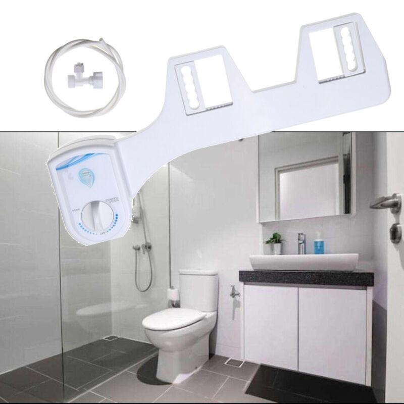Toilet Seat Attachment Fresh Water Spray Non Electric Mechan