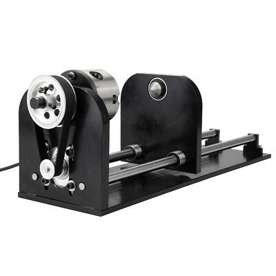 Irregular Chuck Rotary Axis For 60w-100w Co2 Laser Engraving Cutting Machine