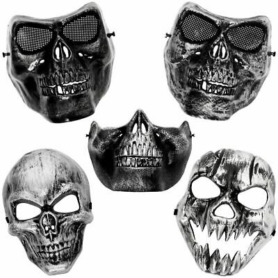 Totenkopf Maske Faschingsmaske Prankmaske Prank Skull Fasching Halloween Horror