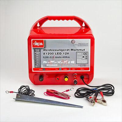 918304 Weidezaungerät Elektrozaungerät 12 Volt 12 V 2,5 Joule J bis 10000 Volt
