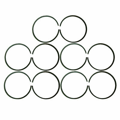 10xQuality 47mm Piston Rings For 66cc 80cc Engine Motorised Bicycle Bike New ()