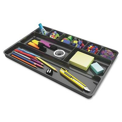 Deflect-o Plastic Desk Drawer Organizer - 1 Height X 14 Width X 9 Def38104