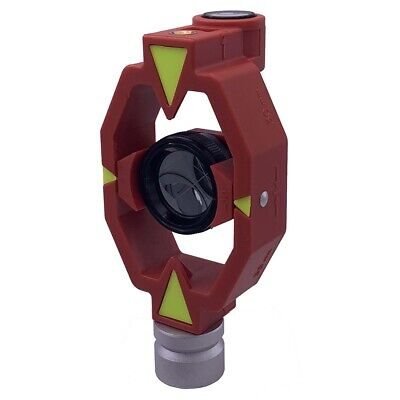 New Mini Prism For Total Station Surveying 0 -30mm Offset.