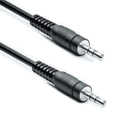 0,5m 3,5mm Stereo Klinken Kabel Audio Klinke AUX Kabel Stecker für PC MP3 Auto