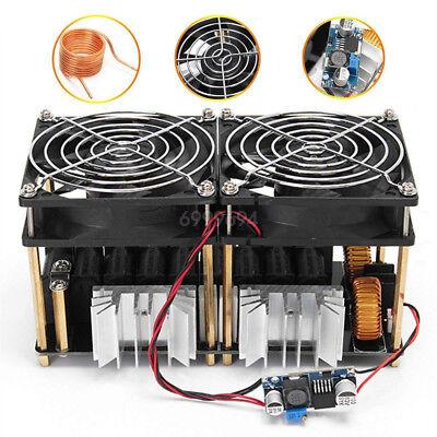 1800w Zvs Induction Heating Board Module Flyback Driver Heater Tesla Coil Fan