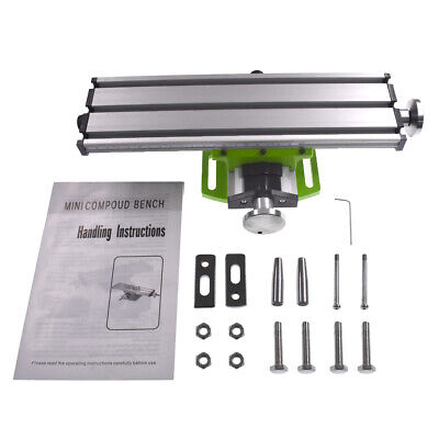 31090mm Diy Multifunction Milling Machine Mini Lathe Cross Sliding Table New
