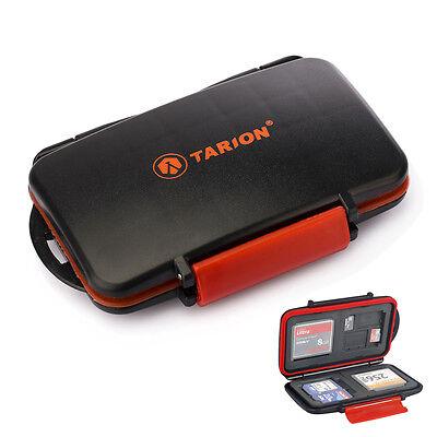 TARION Speicherkarten Box Etui Schutzbox  für SDHC Karten Memory Card Mini Case