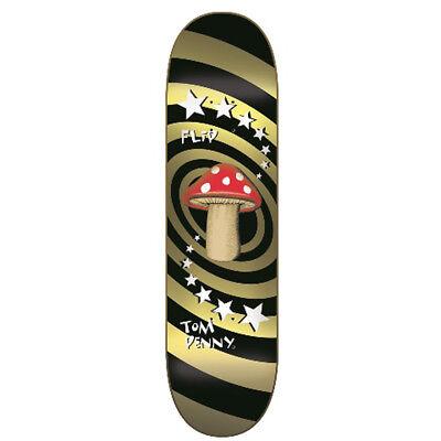 Herren Skateboard Deck (Flip Herren Skateboard Deck Mushroom Gold )