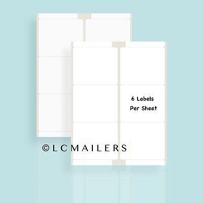 600 Shipping Labels 3-13 X 4 Self Adhesive 100 Sheets Packzon