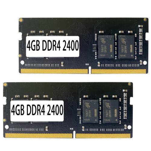 2PCS 4GB DDR4 2400 PC4-19200 Laptop 288PIN Memory RAM Computer Components & Parts
