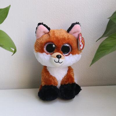 "6"" Beanie Boos Glitter Eyes Plush Stuffed Animals Toys Kids Xmas Gift With tags~"