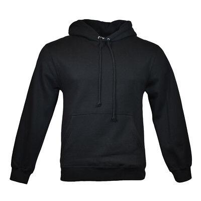 Men's Pullover Hoodie Sweatshirt - AAA Alstyle Apparel - Black - Size: S Alstyle Apparel Pullover