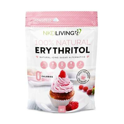 NKD Living Natural Powdered Erythritol 1Kg