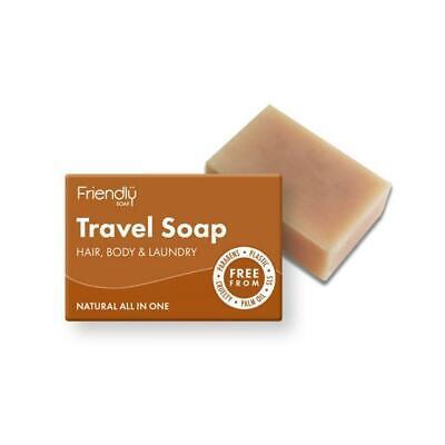 Friendly Soap Natural Hair and Body Bar Travel Soap