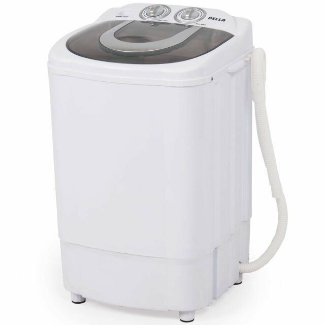 Della Electric Washing Machine Laundry Spin Wash Cycle RV Travel ...