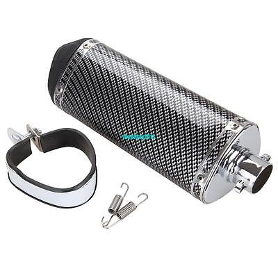 Motorcycle 38mm Exhaust Muffler With DB Killer Slip on Dirt Pit Bike Scooter ATV