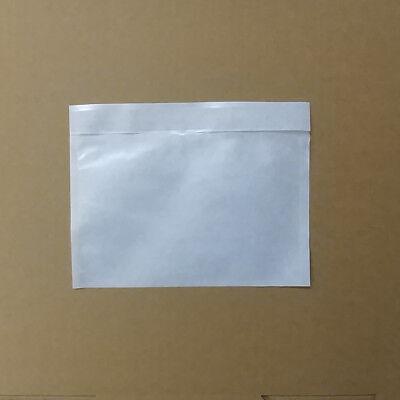 250 Dokumententaschen transparent Docufix C6 Lieferscheintaschen