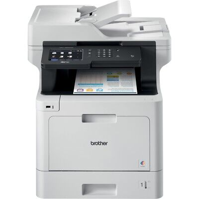Brother Business Color Laser All-in-One MFC-L8900CDW - Duplex Print - Wireless