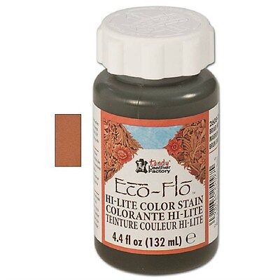 Eco-Flow Hi-Lite Chestnut Stain Tan  4 oz. (118 ml) 2608-04 by Tandy Leather
