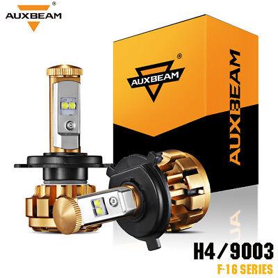 Auxbeam F16 Series H4 9003 LED Headlight Conversion Kits 6000K Hi/Low Beam Bulbs