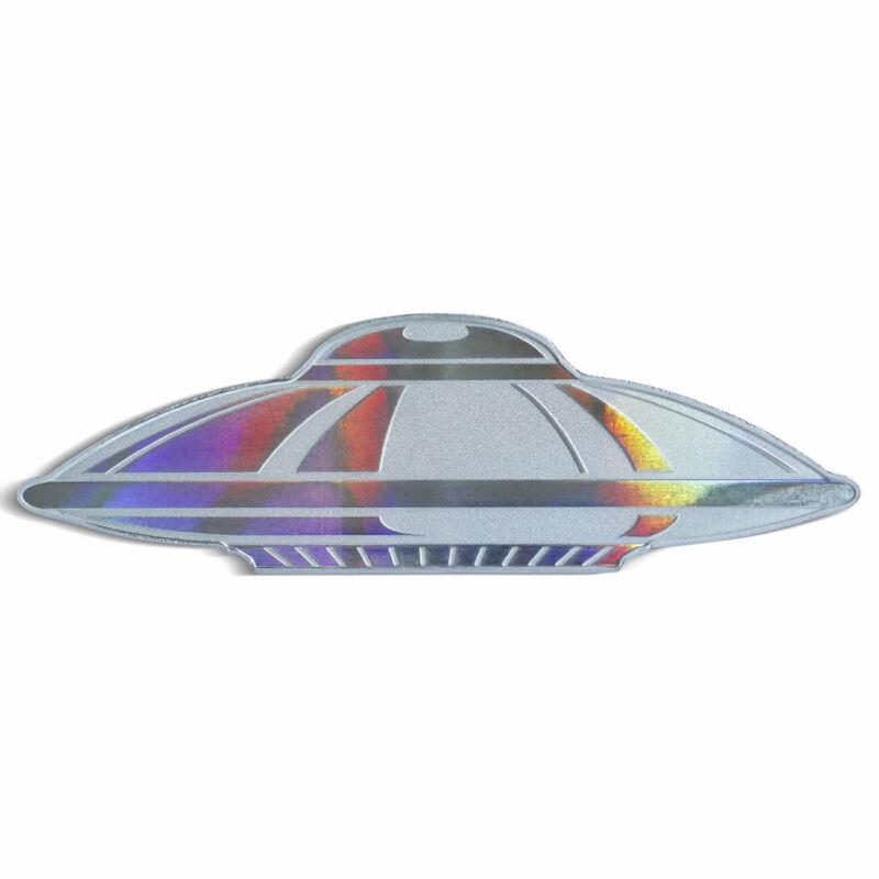 2020 UFO Solomon Islands 1oz Silver $2 Coin .9999 Fine