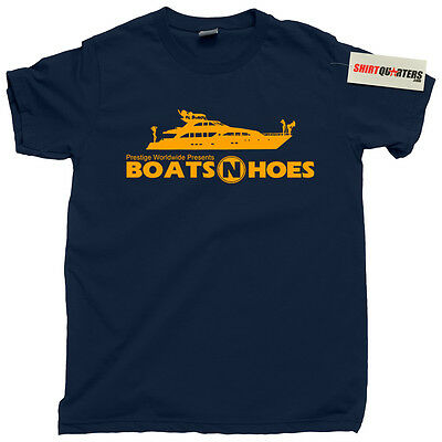 Step Brothers Boats N And Hoes Brennan Huff Dale Doback Nighthawk Tee T Shirt