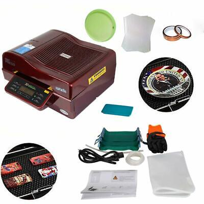 110v 3d Vacuum Sublimation Heat Press Machine Kit For Phone Case Mugs Cups Print