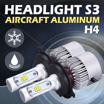 H4 9003 HB2 252W 25200LM Philips LED Headlight Kit Hi/Low Beam Bulb Super Bright