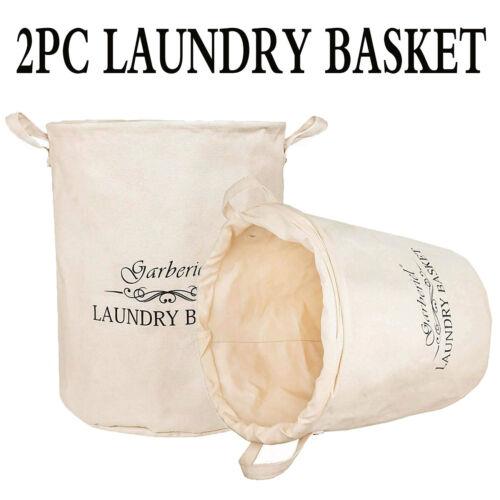 2Pack Foldable Large Storage Laundry Hamper Clothes Basket H