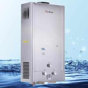 5GPM LPG Propane Gas Tankless Instant Hot Water Heater 18L